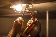 Installation von Beleuchtungskörpern