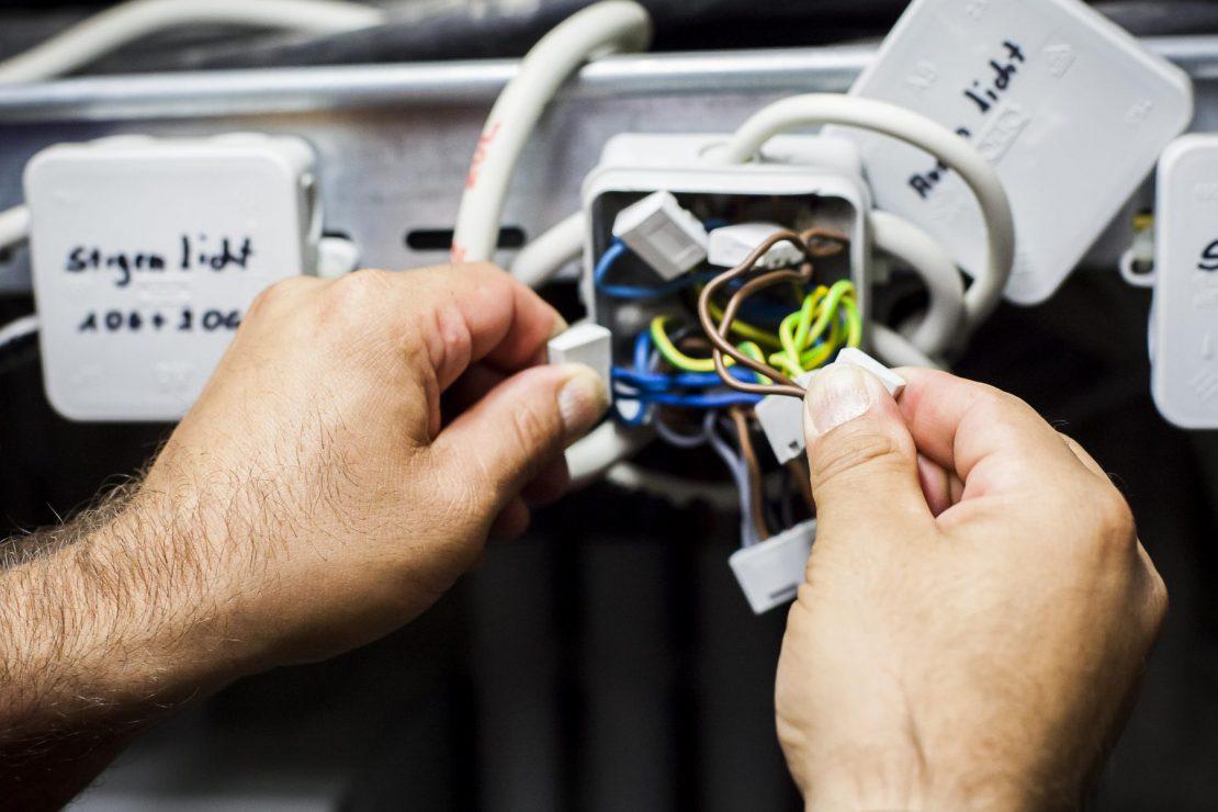 Kontrolle der Verbindungen