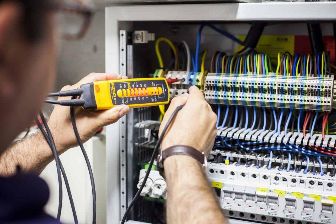Überprüfung der Elektroanlage